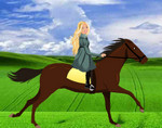 Барби на лошадях