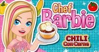 Барби готовит