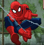 Человек паук - против монстров
