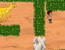 Диего спасает динозавра