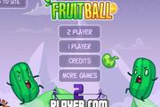 Футбол с фруктами