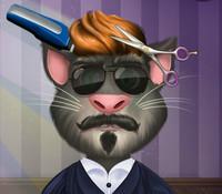 Кот Том в парикмахерской