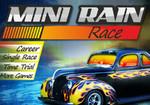 Мини гонки под дождем