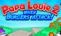 Папа Луи 2 атака гамбургеров