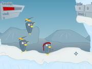 Пингвины бой за Антарктику
