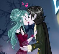 Вампиры целуются
