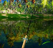 Русская рыбалка на озере