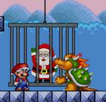 Марио спасаем Санту