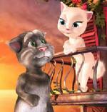 Разговаривающий кот Том и Ангела