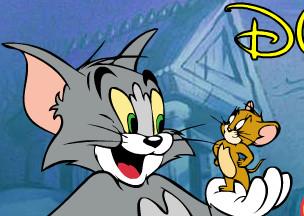 Том и Джерри гонки с горы