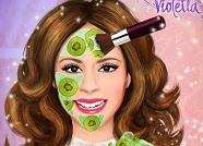 Уход за лицом Виолетты