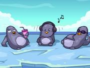 Зомби и Пингвины