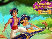 Алладин и Жасмин целуются