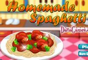 Домашние спагетти