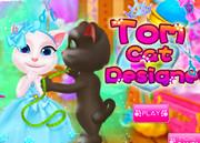 Говорящий кот Том: Дизайнер