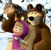 Маша и Медведь - Поиск предметов