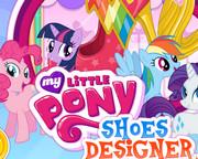 Моя маленькая пони - дизайн обуви