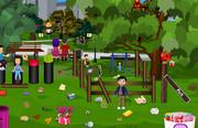 Очистить парк