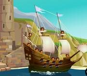 Уничтожить пиратов