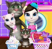 Семейка говорящих котов