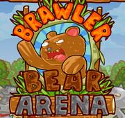 Злой медведь на арене