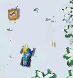 Зимняя гонка