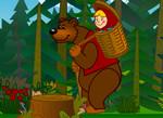 Маша и Медведь: Учим математику