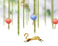 Кунг-фу панда - Monkey Ран