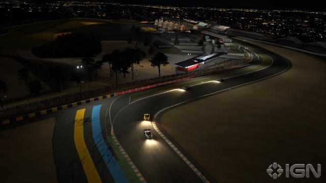 Ночной ле-ман Gran Turismo 5